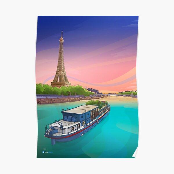 Paris Travel Poster Poster