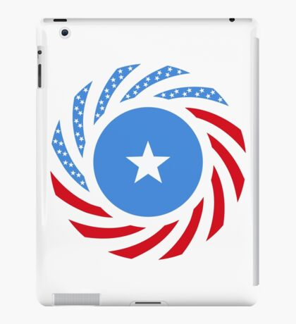 Somali American Multinational Patriot Flag Series iPad Case/Skin