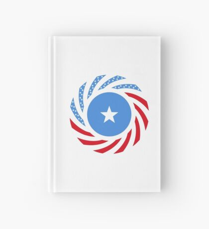 Somali American Multinational Patriot Flag Series Hardcover Journal