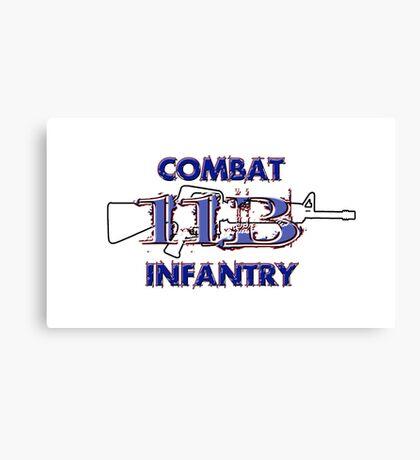 11Bravo - Combat Infantry Canvas Print