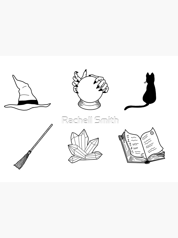Witch Essentials by Raccoon-god
