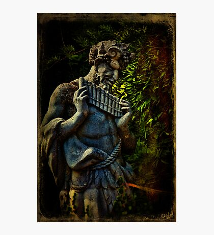 Pagan Pan Photographic Print
