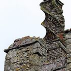 Spiral Chimney, Framlingham Castle by wiggyofipswich
