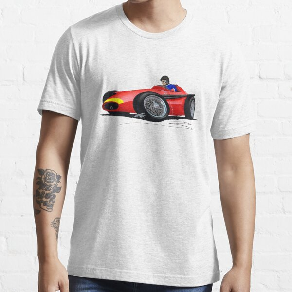 Grand Prix de Monaco 1957 Juan Manuel Fangio Maserati  T Shirt 250 F N°32 1st