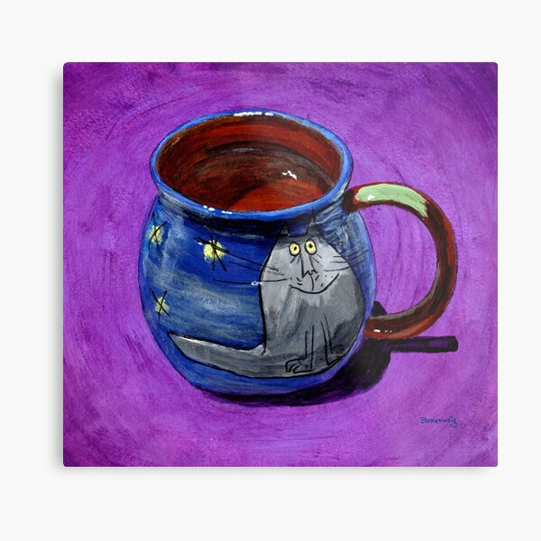All eyes on the cup! Metal Print
