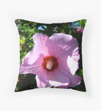 Picture in Purple Throw Pillow
