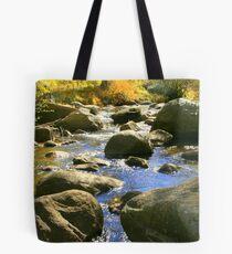 """Mountain Stream"" Tote Bag"