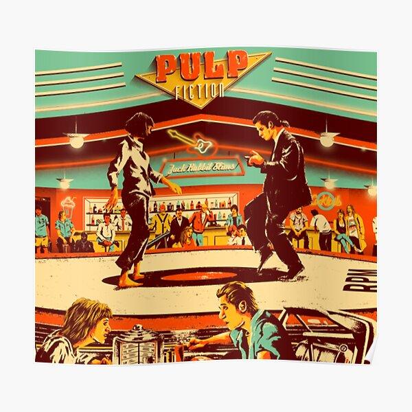 Pulp Fiction, kubrick Poster