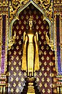 Buddha Figure at Wat Po by Carole-Anne