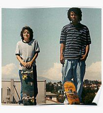 Mid 90s, jonah hill, illegal civ, skating Poster