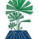 Lady Palm Potted Palm by Pippasprintshop