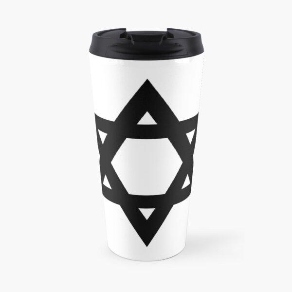 #Star of #David #Symbol  #StarOfDavid Sign Travel Mug