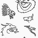 Dangerous Dragons by GirlsRockPitt