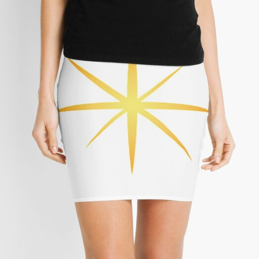 #Star #Symbol  #Sign Mini Skirt