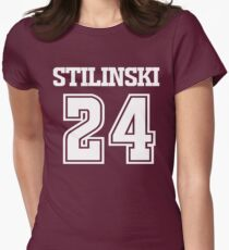 Stiles Stilinski Lacrosse Jersey - Back Women's Fitted T-Shirt