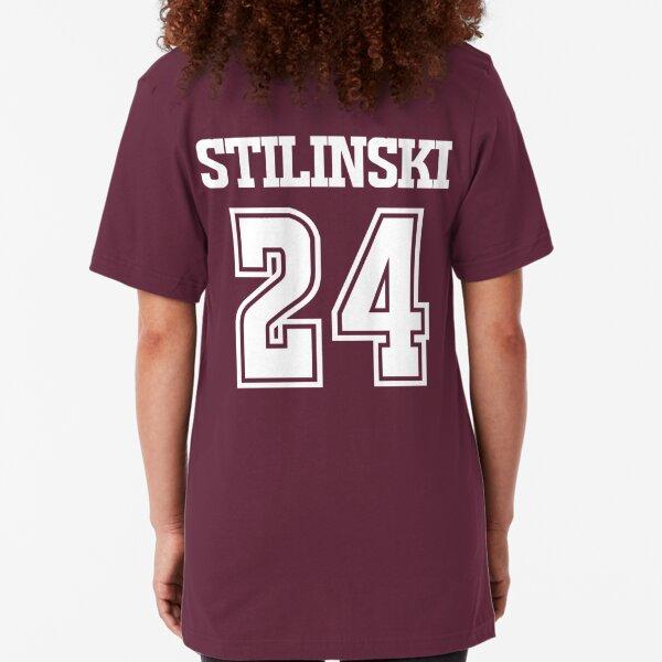 Stiles Stilinski Lacrosse Jersey - Back Slim Fit T-Shirt