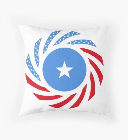 Somali American Multinational Patriot Flag Series Floor Pillow