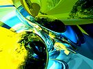 Exhilaration Abstract by Alexander Butler