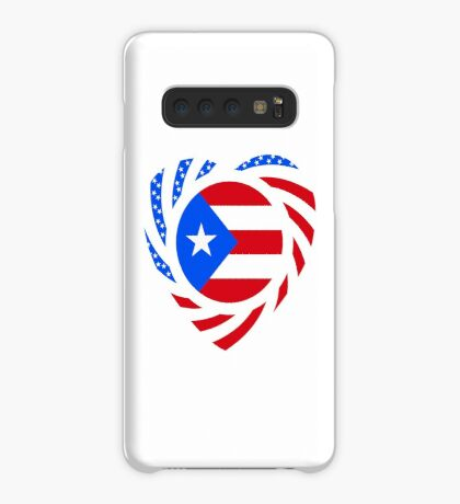 Puerto Rican American Multinational Patriot Flag Series 2.0 Case/Skin for Samsung Galaxy