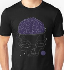 skull brains Unisex T-Shirt