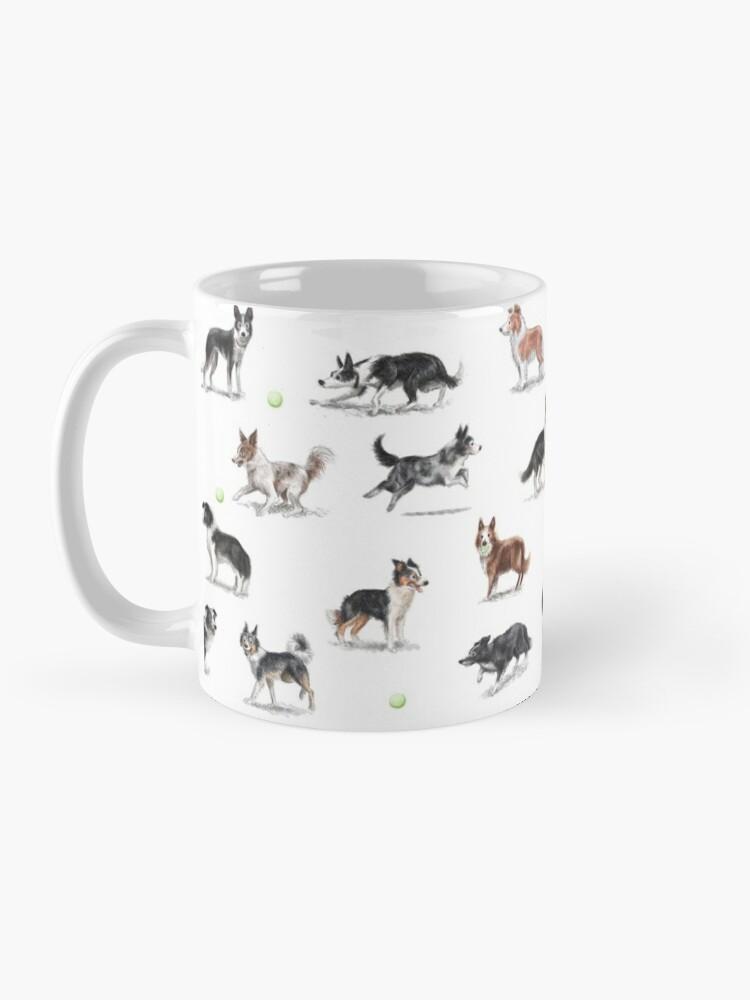 Alternate view of Border Collies Mug