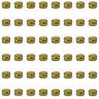 Burger-Illustration wiederholen Muster von Adam Regester
