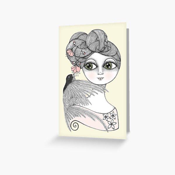 Whisper tweet nothings Greeting Card