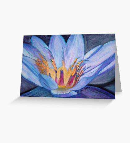 The Light Shines From Within Greeting Card