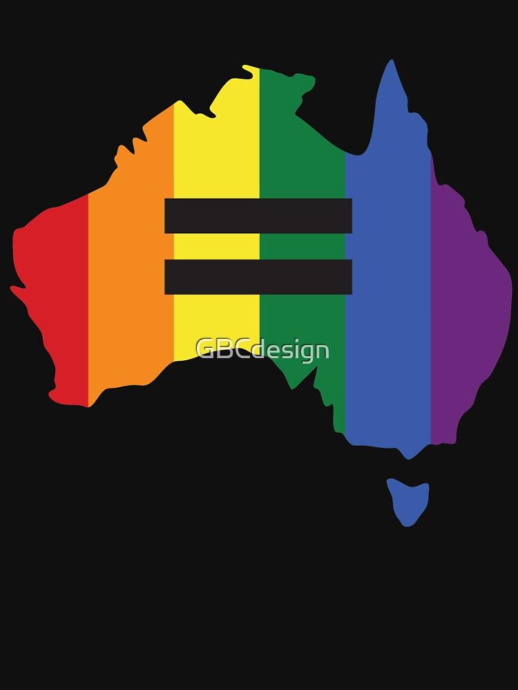 LGBT equality Australia | Unisex T-Shirt