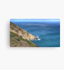 Sea Cliffs Canvas Print