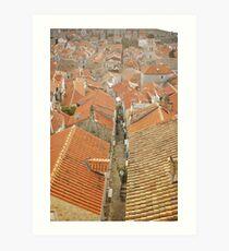 Dubrovnik Art Print
