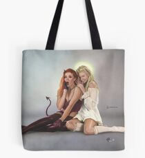 Not So Black and White Tote Bag
