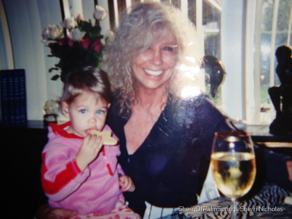WOULD YOU LIKE A GLASS OF WINE WITH ME.hehe!! by Sherri Palm Springs  Nicholas