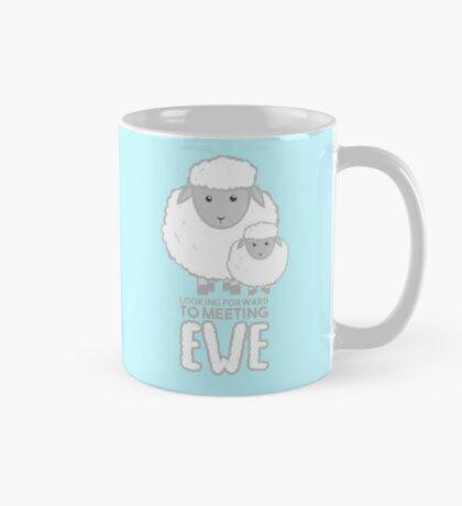 Fathers Day- Sheep - Looking forward to meeting you - Baby Sheep Shirt Mug