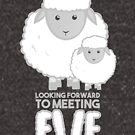 Fathers Day- Sheep - Looking forward to meeting you - Baby Sheep Shirt by JustTheBeginning-x (Tori)