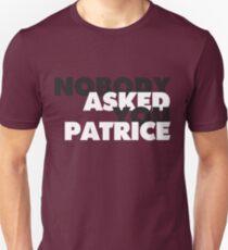 Camiseta ajustada NADIE te pidió Patrice