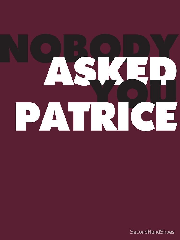 NADIE te pidió Patrice de SecondHandShoes