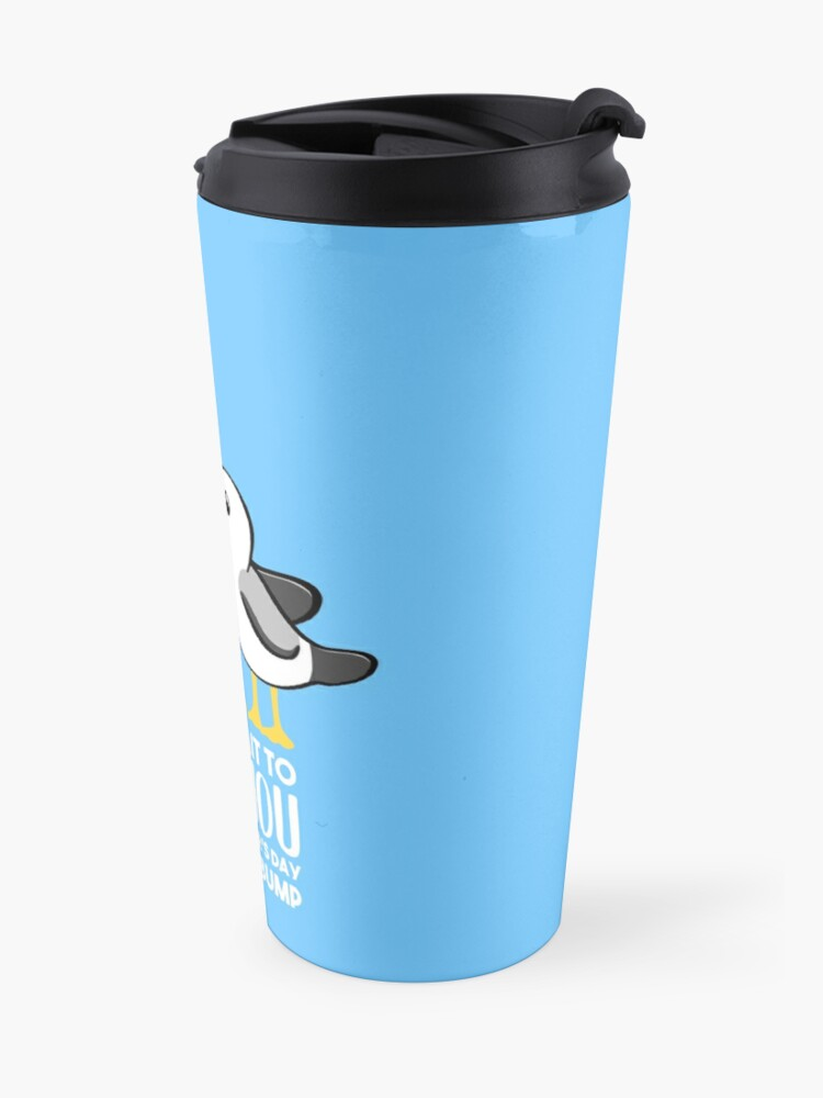 Alternate view of Fathers Day - SeaGull - From The Bump Card - Funny Travel Mug