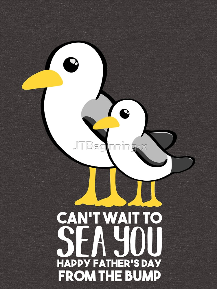 Fathers Day - SeaGull - From The Bump Card - Funny by JTBeginning-x