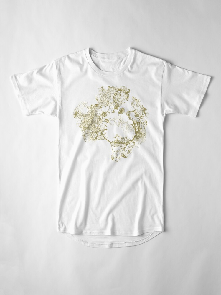 Alternate view of Physarum Polycephalum Long T-Shirt
