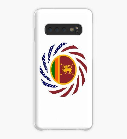 Sri Lankan American Multinational Patriot Flag Series Case/Skin for Samsung Galaxy