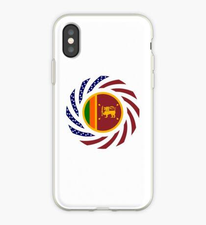 Sri Lankan American Multinational Patriot Flag Series iPhone Case
