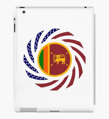 Sri Lankan American Multinational Patriot Flag Series iPad Case/Skin