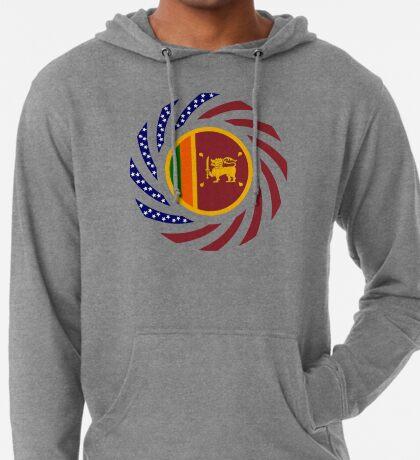 Sri Lankan American Multinational Patriot Flag Series Lightweight Hoodie