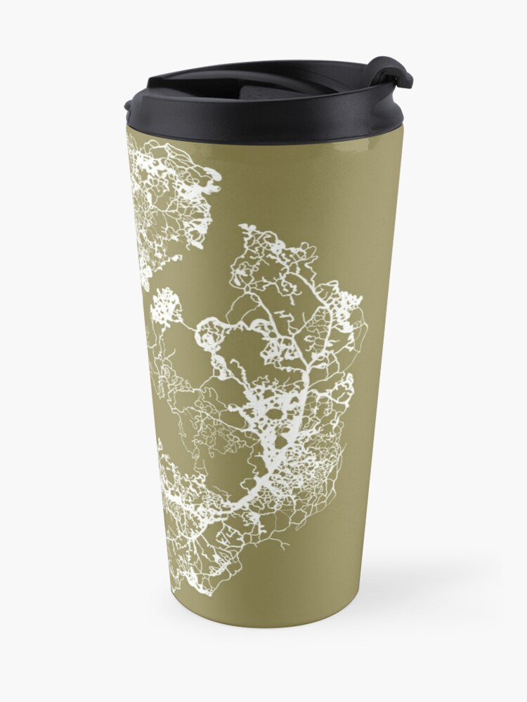 Alternate view of Physarum Polycephalum Travel Mug