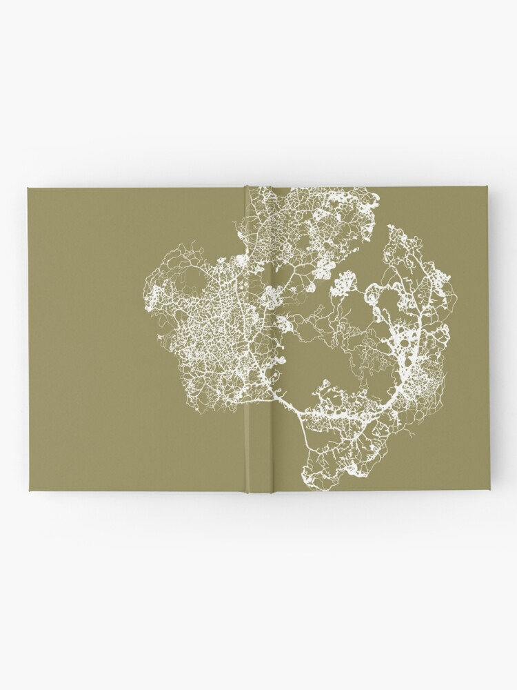 Alternate view of Physarum Polycephalum Hardcover Journal