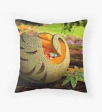 Exotic Melons 2  Throw Pillow