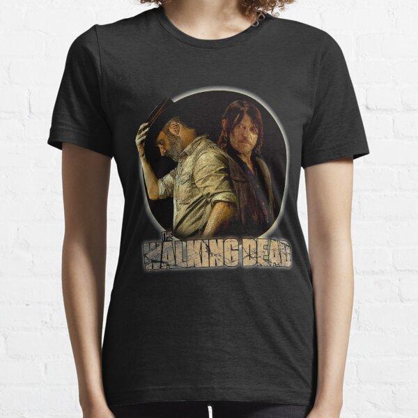 Les morts-vivants, Rick et Daryl, Zombie T-shirt essentiel