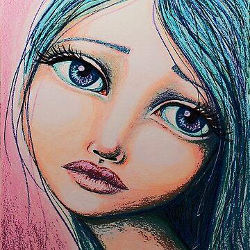 Blue Girl by LittleMissTyne
