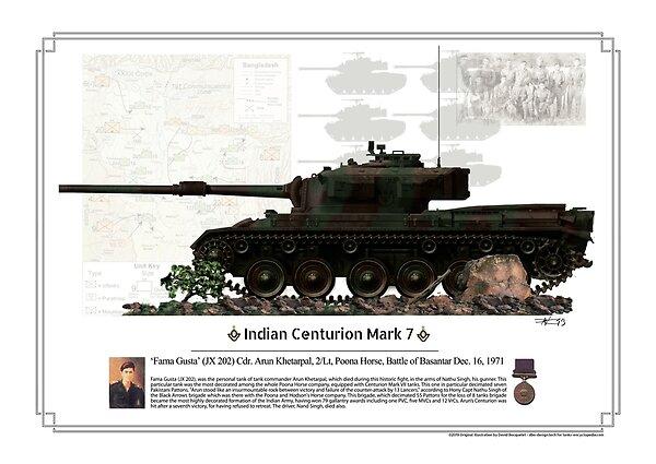 Indian Centurion Mk VII